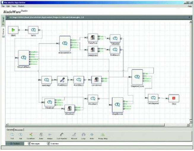 Figure 2: Studio Client GUI