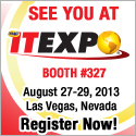 Visit Commetrex at ITEXPO!